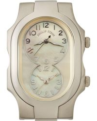 Philip Stein - Small Signature Mother-of-pearl Watch Head - Lyst