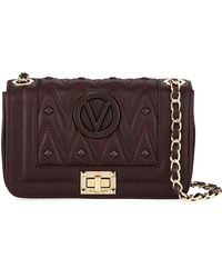 Valentino By Mario Valentino - Beatriz D Sauvage Studs Quilted Leather Shoulder Bag - Lyst