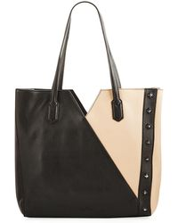 Sam Edelman - Emery Colorblock Leather Tote Bag - Lyst