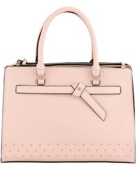 Neiman Marcus - Knotted Top-handle Satchel Bag - Lyst