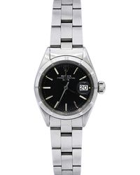 Rolex - Pre-owned 26mm Oyster Perpetual Date Bracelet Watch - Lyst