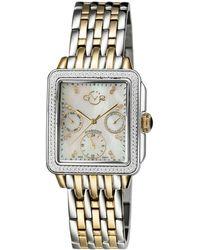 Gv2 - 30mm Bari Diamond Bracelet Watch - Lyst