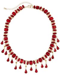 Lydell NYC - Shaker Statement Necklace - Lyst