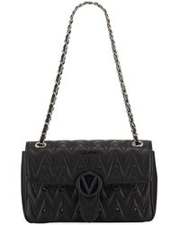 766dfb0da54d78 Valentino By Mario Valentino Antoinette Quilted Leather Bag in Black ...