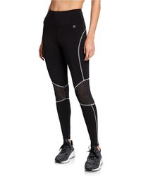 Body Language Sportswear - Parker Sportswear Leggings With Perforated Detailing - Lyst