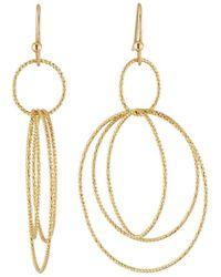 Lydell NYC - Multi-hoop Drop Earrings - Lyst