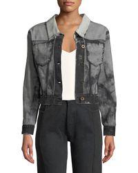 Unravel - Gradient Backward & Inside Out Jacket - Lyst