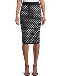 Michael Kors - Sequined Pencil Skirt - Lyst