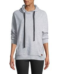 Peace Love World - Good Energy Reverse Fleece Hooded Sweatshirt - Lyst
