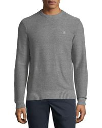 Original Penguin   Ribbed-knit Cotton Sweater   Lyst
