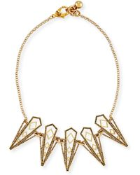 Lulu Frost Voyage Statement Necklace - Metallic