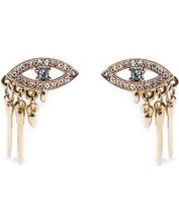 Lulu Frost Discovery Eye Stud Earrings