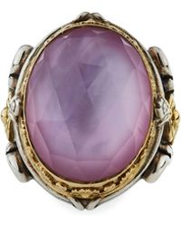 Konstantino - Large Doublet Oval Ring - Lyst