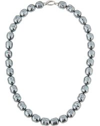 Majorica - 7mm Round Simulated Pearl Strand Necklace - Lyst