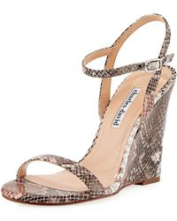 Charles David - Queen Smooth Wedge Sandal - Lyst