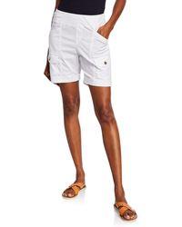 XCVI Clarissa Cuffed Twill Shorts