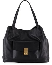 Cole Haan - Allanna Work Leather Tote Bag - Lyst