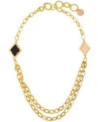 Stephanie Kantis - Illumination Layered Necklace - Lyst