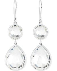 Ippolita - Clear Quartz Snowman Earrings - Lyst