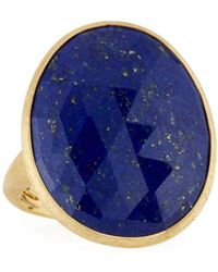 Marco Bicego - 18k Small Lapis Ring - Lyst