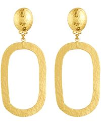 Gurhan - 24k Gold Mango Link Drop Earrings - Lyst