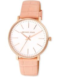 6a3fa528a780 MICHAEL Michael Kors - Pyper 38mm Watch W  Additional Leather Straps - Lyst