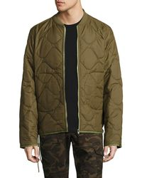 Ovadia And Sons - Yardon Reversible Quilted Jacket - Lyst