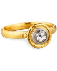 Gurhan - Dew Droplet 24k Rose-cut Diamond Ring - Lyst