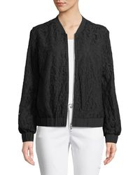 Cece by Cynthia Steffe - Lace Bomber Jacket - Lyst