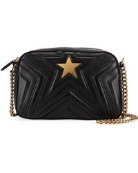 99bba2afe5 Lyst - Stella McCartney Eco Alter Shoulder Bag in Black