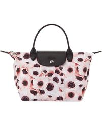 Longchamp - Le Pliage Anemone Medium Shoulder Bag - Lyst