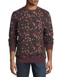 Wesc - Miles Animal Printed Sweatshirt - Lyst
