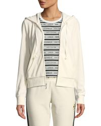 13c2cdee Juicy Couture Silver Foil Track Jacket (silver Foil) Clothing in Metallic -  Save 8% - Lyst