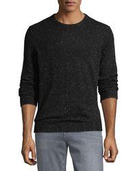 Neiman Marcus - Men's Lightweight Donegal Cashmere Crewneck Sweater - Lyst