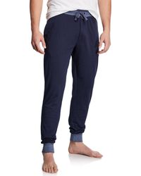 Unsimply Stitched - Men's Lounge Pants With Contrast Cuffs - Lyst