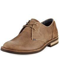 Original Penguin - Wade Leather Lace-up Oxford Brown - Lyst