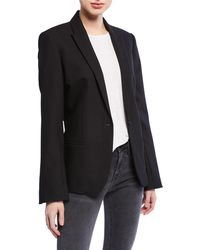 Zadig & Voltaire Vedy Love Strass One-button Blazer