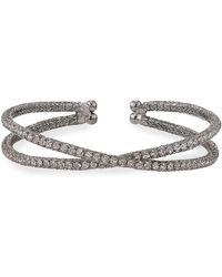 Kenneth Jay Lane | Antique-inspired Crisscross Bracelet | Lyst