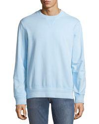 Michael Bastian - Garment-dyed Pullover Sweatshirt - Lyst