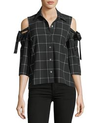 Waverly Grey - Mindy Cold-shoulder Top - Lyst