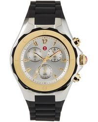 Michele - Tahitian Large Jelly Bean Two-tone Chronograph - Lyst