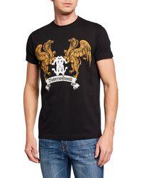 Roberto Cavalli - Men's Griffin Graphic T-shirt - Lyst