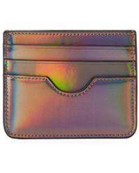 Neiman Marcus Iridescent Pouch Card Case