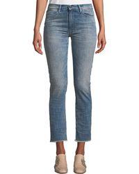 Brockenbow - Lili Slim Cropped Jeans - Lyst
