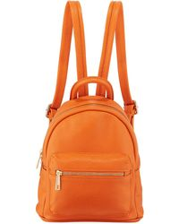 Neiman Marcus - Mini Pebbled Leather Backpack - Lyst