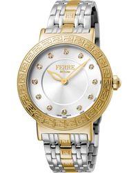 Ferrè Milano - Women's 38mm Stainless Steel Watch With Bracelet - Lyst