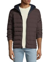b5c82ac62948 MICHAEL Michael Kors - Men s Quilted Down-fill Hooded Jacket - Lyst