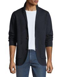 Neiman Marcus - Men's Merino Wool Blazer Cardigan - Lyst