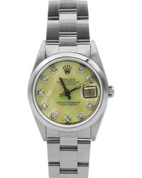 Rolex - Pre-owned 26mm Datejust Diamond Bracelet Watch - Lyst