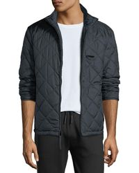 Marc New York - Humboldt Quilted Stand-collar Jacket - Lyst